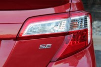 2012 Toyota Camry SE V6 taillight