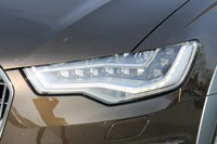 2012 Audi A6 Allroad Quattro headlight