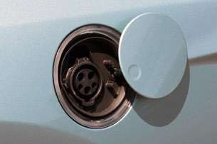 2012 Ford Focus Electric charging port
