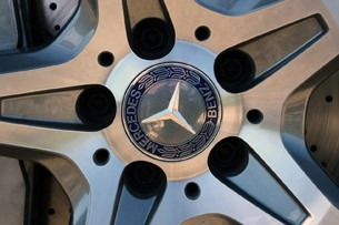 2013 Mercedes SL550 wheel detail