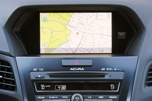 2013 Acura ILX navigation system