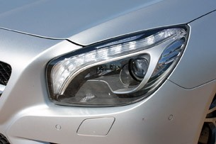 2013 Mercedes SL550 headlight