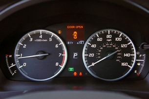 2013 Acura ILX gauges