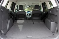 2013 Ford Escape rear cargo area