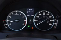 2013 Acura RDX gauges