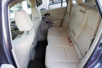 2013 Acura RDX rear seats