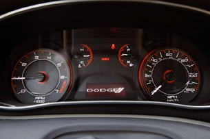 2013 Dodge Dart gauges