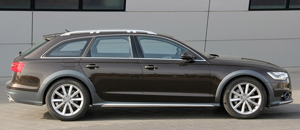 2012 Audi A6 Allroad Quattro side view