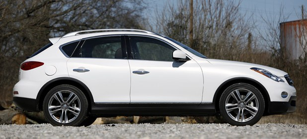 2012 Infiniti EX35 side view