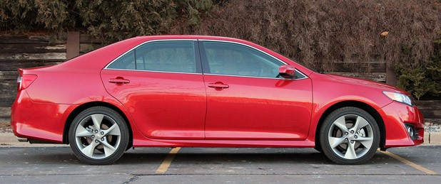 2012 Toyota Camry SE V6 side view
