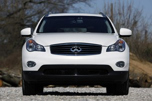 2012 Infiniti EX35 front view