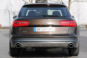 2012 Audi A6 Allroad Quattro rear view