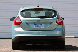2012 Ford Focus Electric rear view