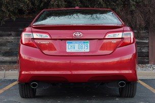 2012 Toyota Camry SE V6 rear view