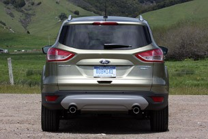 2013 Ford Escape rear view