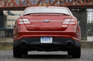 2013 Ford Taurus SHO rear view