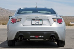 2013 Scion FR-S rear view