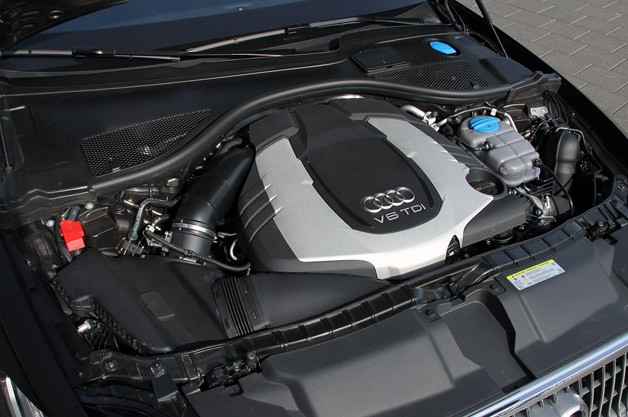 2012 Audi A6 Allroad Quattro engine