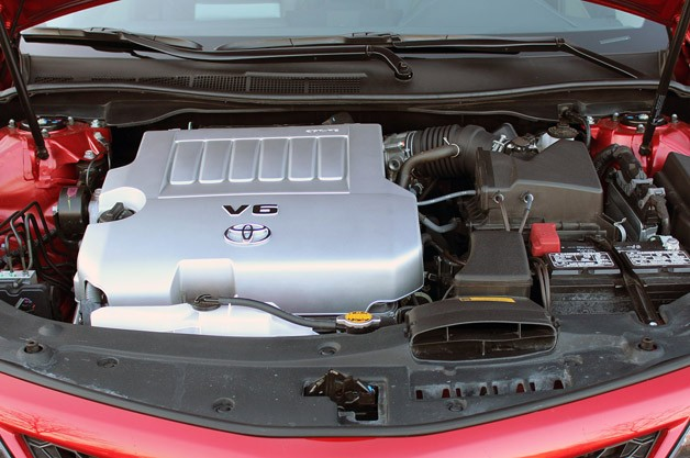 2012 Toyota Camry SE V6 engine