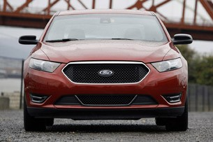 2013 Ford Taurus SHO front view