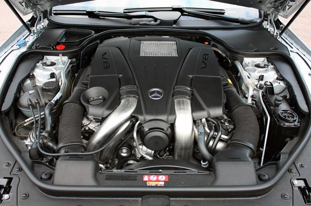 2013 Mercedes SL550 engine