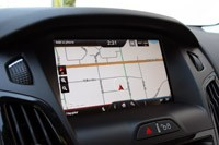 2012 Ford Focus Electric navigation system
