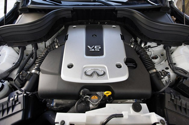 2012 Infiniti EX35 engine