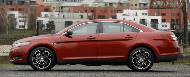 2013 Ford Taurus SHO side view