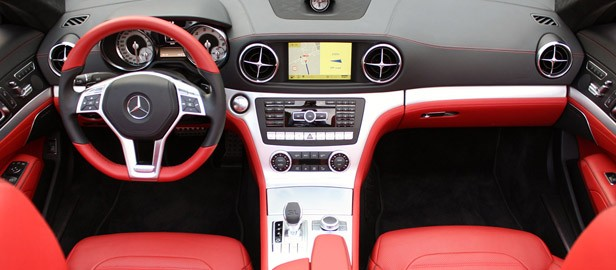 2013 Mercedes SL550 interior