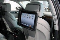 2012 Audi A6 Allroad Quattro rear seat tv screens