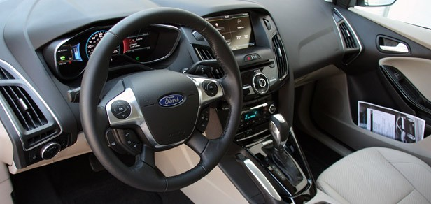 2012 Ford Focus Electric interior