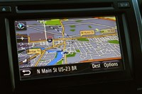 2012 Toyota Camry SE V6 navigation system