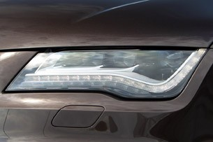 2013 Audi S7 headlight