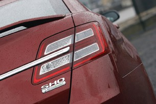 2013 Ford Taurus SHO taillight
