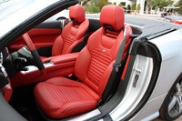 2013 Mercedes SL550 seats