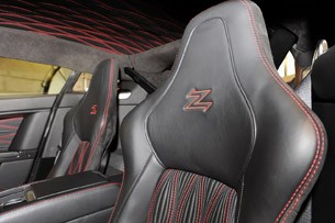 Aston Martin V12 Zagato seats