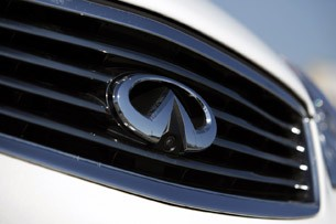 2012 Infiniti EX35 grille