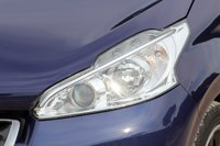 2012 Peugeot 208 headlight