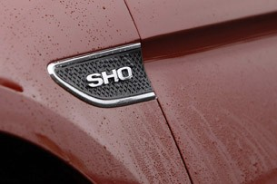 2013 Ford Taurus SHO badge