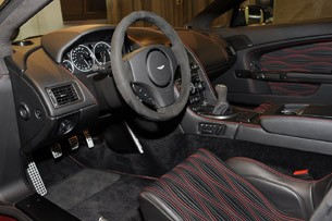 Aston Martin V12 Zagato interior