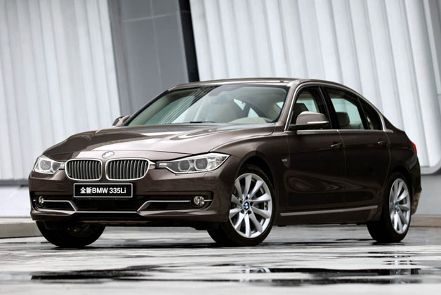 Long-wheelbase 2013 BMW 3 Series for China