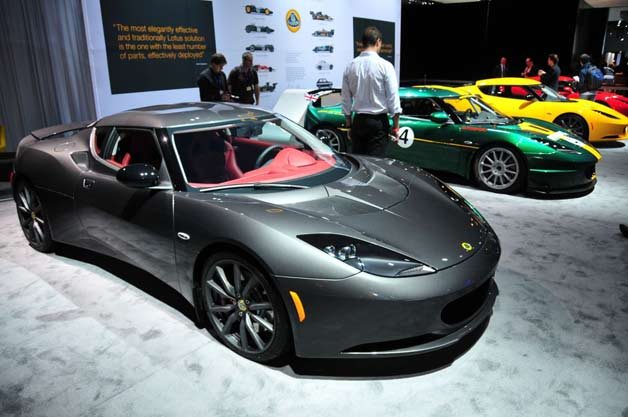 Lotus scrapes together sufficient income to revive production
