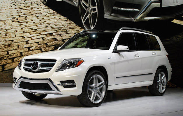 2013 Mercedes-Benz GLK reveal live in New York