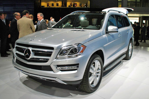 2013 Mercedes-Benz GL-Class is the S-Class of SUVs