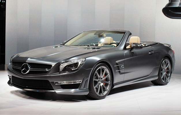 2013 Mercedes-Benz SL63 AMG live reveal at 2012 NY Auto Show