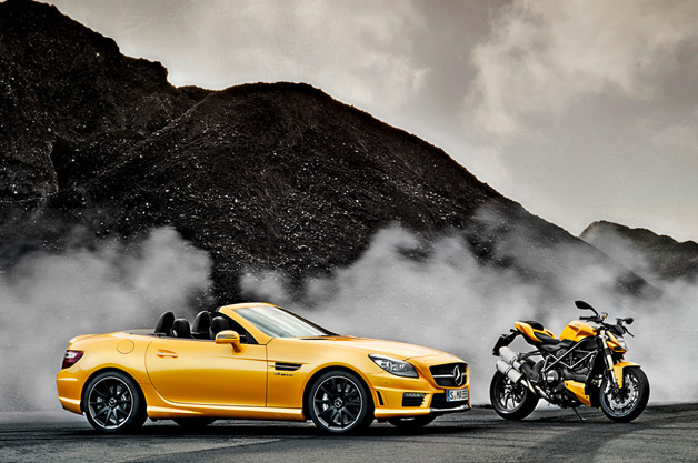 Mercedes-Benz AMG and Ducati Streetfighter