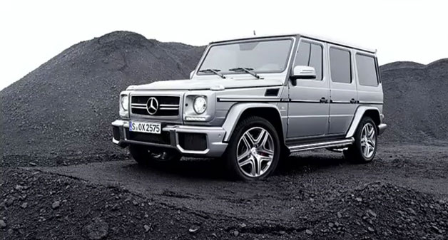 2013 Mercedes-Benz G65 AMG in a mine
