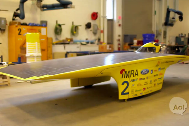 Translogic visits the University of Michigan Solar Car Team