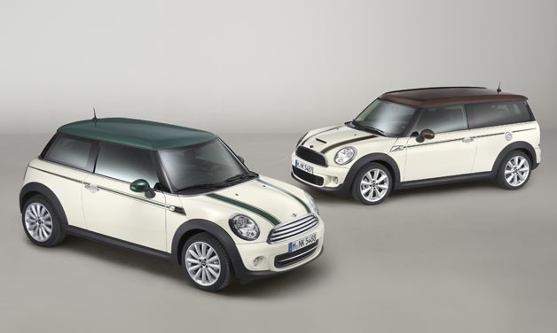 Mini Cooper Green Park and Mini Clubman Hyde Park