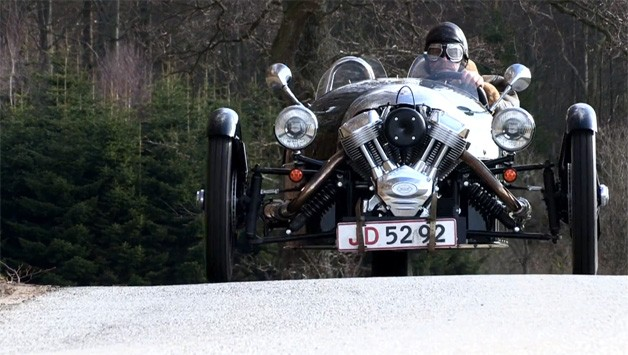 Morgan 3 Wheeler Video